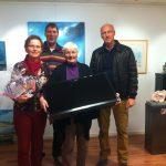 op de foto: T van der Gaast en I Hento (winnaars) Wittermans , de Boer (OVK). Op de foto ontbreekt G.Haytema