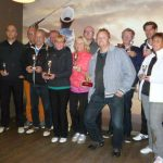 vlnr: Wim Potman, Jos Menting, Mient Kobes, Herma Kleinlugtenbeld, Tjitske de Jong, Renze Hasper, Herman Zwerver, Joep van Mourik, Klaas Jan Koenders, Jacqueline van Leeuwen.