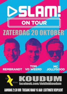 SLAM! on tour in De Klink @ De Klink