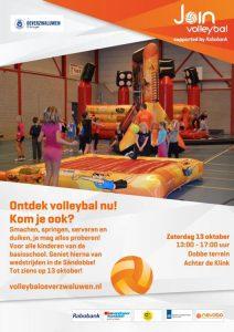 Ontdek volleybal nu @ Dobbeterrein (achter De Klink)