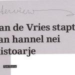 De projecten van Jan de Vries