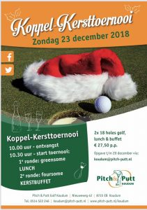 Koppel-Kersttoernooi Pitch & Putt @ Pitch & Putt