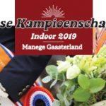 Koudumse ruiters op Friese Kampioenschappen Indoor