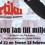Artiku spilet 'In frou fan fiif miljoen'
