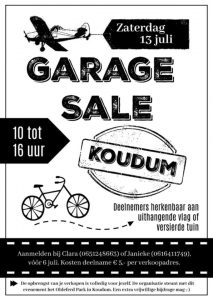 Garage Sale Koudum @ Overal in Koudum