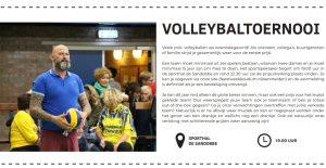 Feestweek: volleybaltoernooi @ De Sândobbe