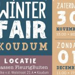 Tweede winterfair in Koudum