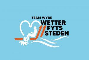 Eerste tocht unieke waterfiets Team Wybe @ Nije Feart