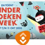 Kinderboekenweek in bibliotheek Koudum