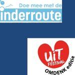 Kinderroute tijdens UIT Festival met ijsje als beloning