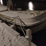 Weinig sneeuw in Koudum